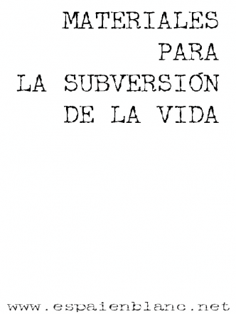 materiales para la subversion - portada