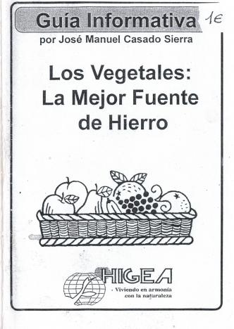 los vegetales - portada