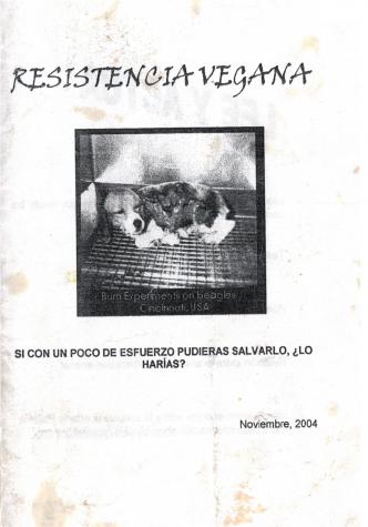 resistencia vegana -portada