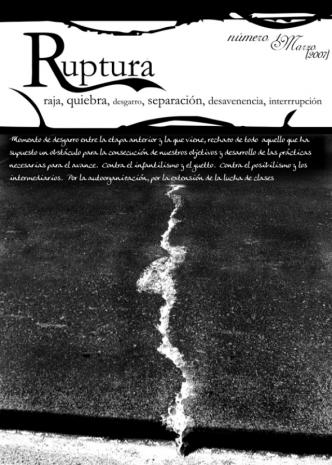 ruptura 1 - portada